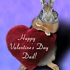 Valentine's Bunny Rabbit by jkartlife