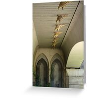 Surprise Undercover Promenade - Valencia Spain Greeting Card