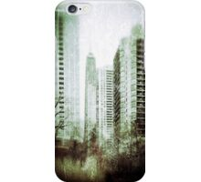 Vintage City View iPhone Case/Skin
