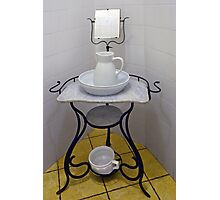 Wash-stand from the fifties Photographic Print