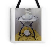 Wash-stand from the fifties Tote Bag