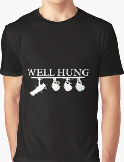 """Well Hung"" - Lighting Engineer/Technician Graphic T-Shirt"