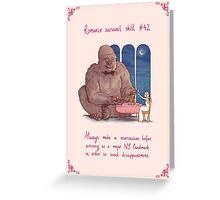 The Biggest Heart in New York Greeting Card