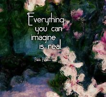 Everything You Can Imagine is Real by Sherri Lasko