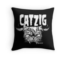 catzig Throw Pillow