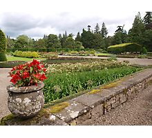 Glamis Formal Garden Photographic Print