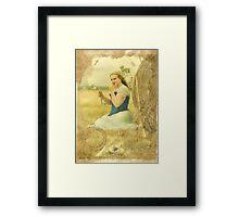 Cinderella (fairy godmothers don't exsist) Framed Print