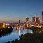 The Austin Skyline from the Milago by RobGreebonPhoto