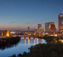 The Austin Skyline from the Milago by RobGreebonPhoto