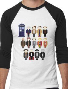 Pixel Doctor Who Regenerations Men's Baseball ¾ T-Shirt