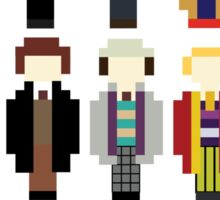 Pixel Doctor Who Regenerations Sticker