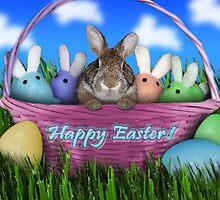 Easter Bunny Rabbit by jkartlife