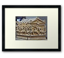 Casket from long ago and far away Framed Print