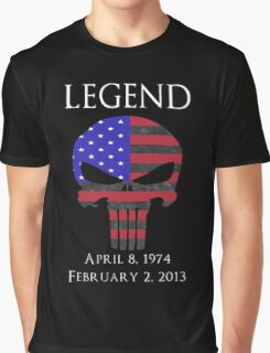 RIP Chris Kyle Graphic T-Shirt
