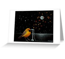 Chatting the Night Away Greeting Card