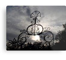 Ironwork Decoration Avebury, UK Metal Print