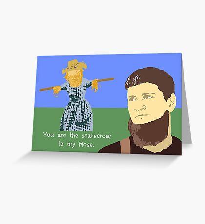 Mose - Custom for Daniel H. Greeting Card