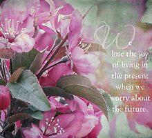 We lose joy when... by vigor