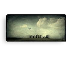Silos of the Praires Canvas Print