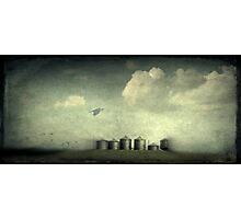 Silos of the Praires Photographic Print