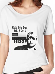 Chris Kyle RIP v2 Women's Relaxed Fit T-Shirt