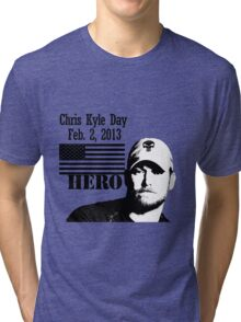 Chris Kyle RIP v2 Tri-blend T-Shirt