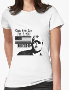 Chris Kyle RIP v2 Womens Fitted T-Shirt