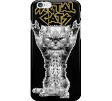 metal cats iPhone Case/Skin