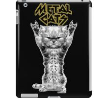 metal cats iPad Case/Skin
