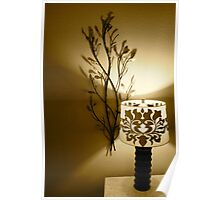 Lamp and Wall Decoration Poster