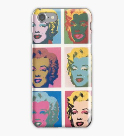 Marilyn Monroe by Andy Warhol iPhone Case/Skin