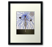 Finding Emotional Balance Framed Print