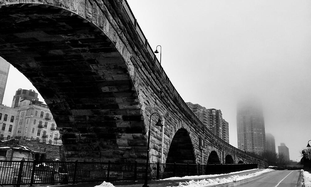 History in a Stone Arch bridge by skyewalker59