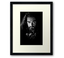 Richard Armitage as Thorin Oakenshield Framed Print