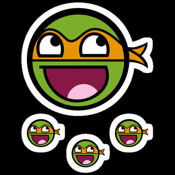 Cowabunga Buddy Squad: Michelangelo - Sticker by Cowabunga