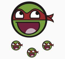Cowabunga Buddy Squad: Raphael - Sticker by Cowabunga