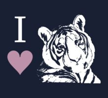I Love Tigers by jkartlife