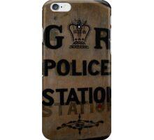 Vintage Police Sign iPhone Case/Skin