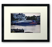 Victoria Clipper IV Framed Print
