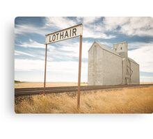 Lothair, Montana Canvas Print
