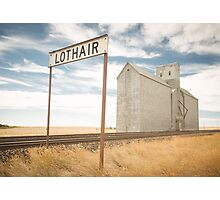 Lothair, Montana Photographic Print