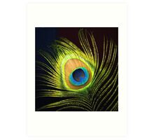 BRIGHT EYE Art Print