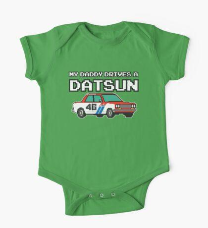 Datsun 510 8Bit - Daddy One Piece - Short Sleeve