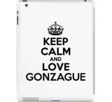 Keep Calm and Love GONZAGUE iPad Case/Skin