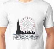 Navy PIer Unisex T-Shirt
