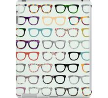 Retro Glasses Hipster Pattern iPad Case/Skin