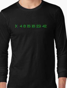 LOST: 4 8 15 16 23 42 Long Sleeve T-Shirt
