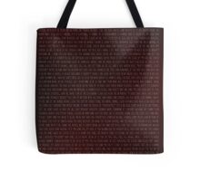 Buffy Quotes Tote Bag