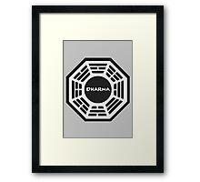 LOST: Dharma Logo Framed Print