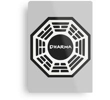 LOST: Dharma Logo Metal Print